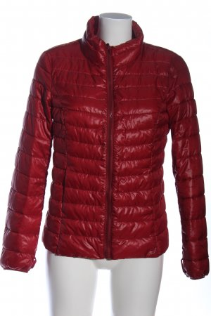 edc Outdoor Jacket red quilting pattern street-fashion look