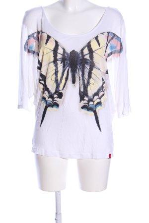 edc Oversized Shirt Motivdruck Casual-Look