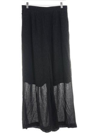 edc Pantalone palazzo nero stile casual