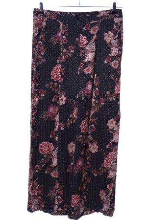 edc Pantalon palazzo motif de fleur style décontracté