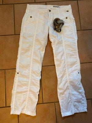 Edc Esprit Pantalón de camuflaje blanco