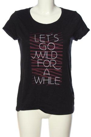 edc Print-Shirt Schriftzug gedruckt Casual-Look