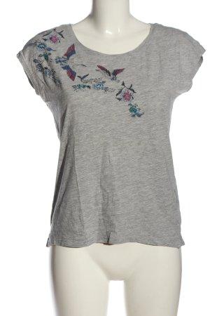 edc Print-Shirt meliert Casual-Look