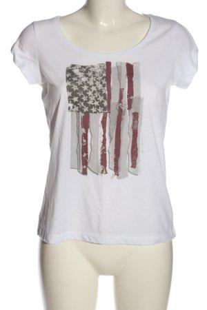 edc Print-Shirt Motivdruck Casual-Look