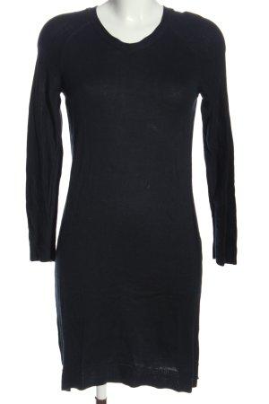 edc Vestido tipo jersey negro look casual
