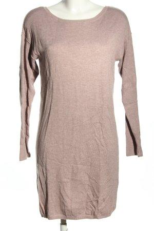 edc Pulloverkleid braun meliert Business-Look