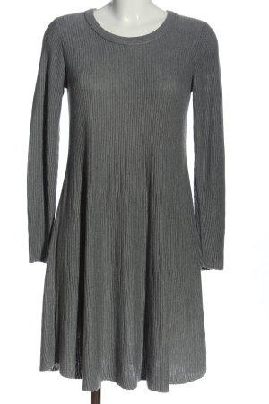 edc Swetrowa sukienka jasnoszary Warkoczowy wzór W stylu casual