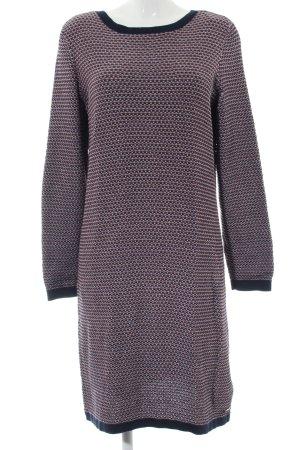 edc Robe pull gris clair-noir imprimé allover style décontracté