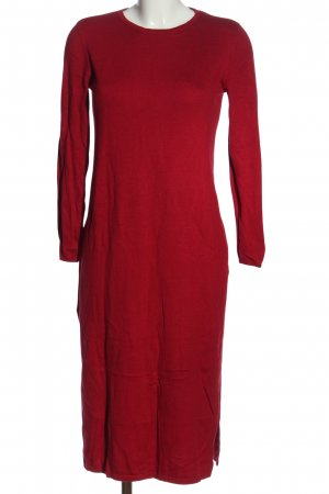 edc Sweater Dress red casual look