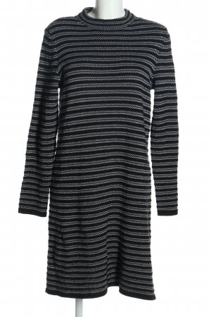 edc Sweater Dress black-white allover print casual look