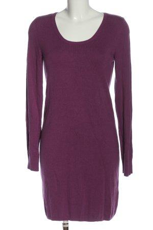 edc Pulloverkleid lila Casual-Look