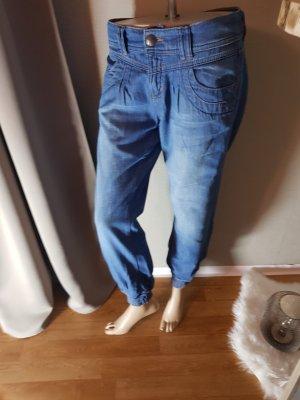 Esprit Jeansy typu boyfriend niebieski Bawełna