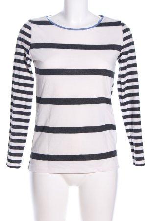 edc Stripe Shirt white-light grey allover print casual look