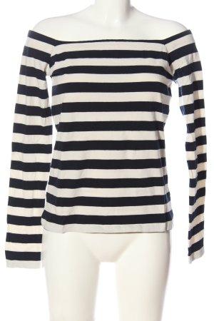 edc Stripe Shirt black-white allover print casual look