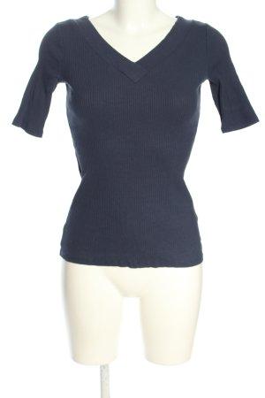 edc Geribd shirt blauw casual uitstraling