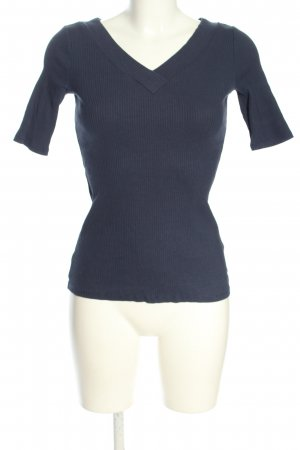 edc Ribbed Shirt blue casual look