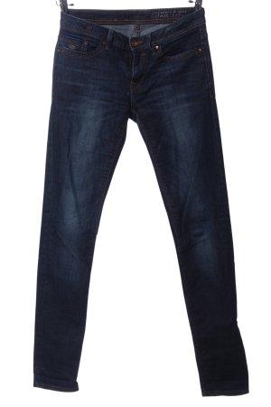 edc Röhrenhose blau Casual-Look