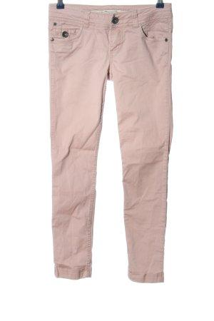 edc Pantalon cigarette rose style décontracté