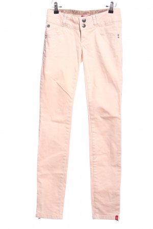 edc Drainpipe Trousers pink casual look