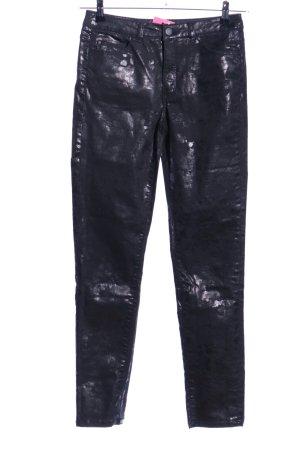 edc Pantalón de tubo negro elegante