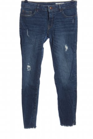 edc Jeans cigarette bleu style décontracté