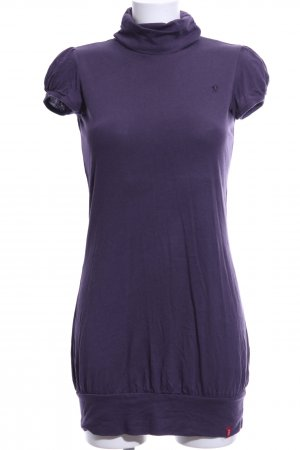 edc Camisa de cuello de tortuga lila look casual