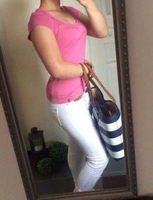 EDC rosa Basic T Shirt