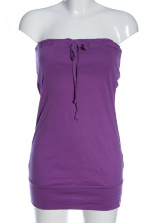 edc Rugloze top lila casual uitstraling