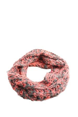 edc Snood rood-zwart kabel steek casual uitstraling