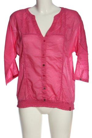 edc Schlupf-Bluse pink Business-Look