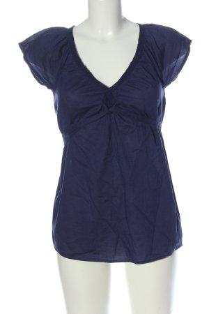 edc Schlupf-Bluse blau meliert Casual-Look