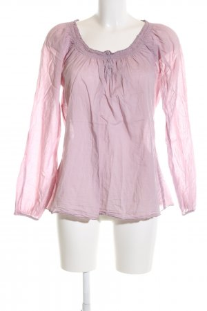 edc Slip-over blouse roze casual uitstraling