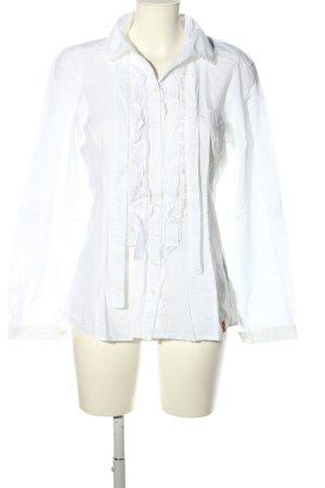 edc Blusa con lazo blanco look casual