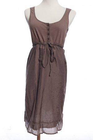 edc Off-The-Shoulder Dress brown casual look