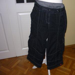 Pantalone da cavallo nero Cotone