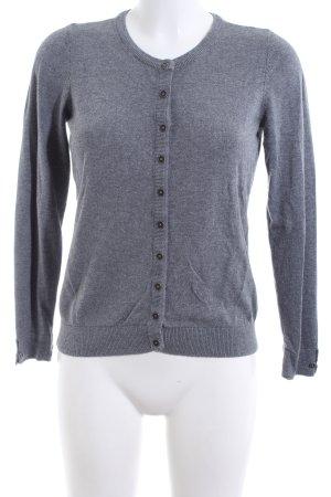 edc Chaqueta estilo camisa gris claro moteado look casual