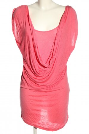 edc Camisa tipo túnica rosa elegante