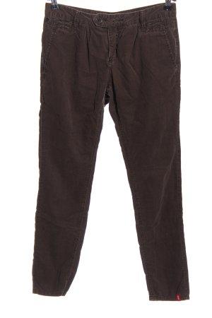 edc Corduroy Trousers brown casual look