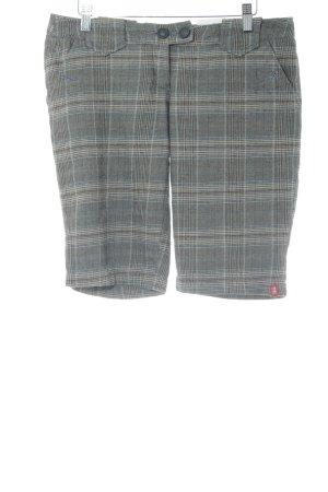 edc Shorts Karomuster Casual-Look