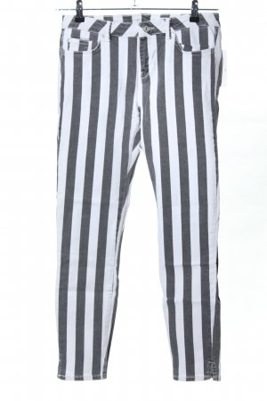 edc Skinny Jeans weiß-hellgrau meliert Casual-Look