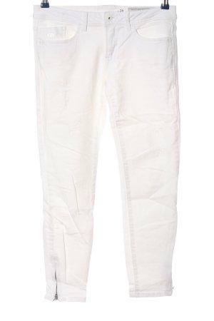 edc Skinny Jeans weiß Casual-Look