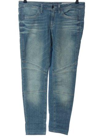 edc Skinny Jeans blau Street-Fashion-Look