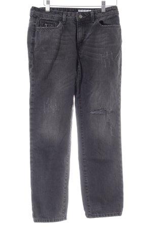 edc Slim Jeans hellgrau Street-Fashion-Look