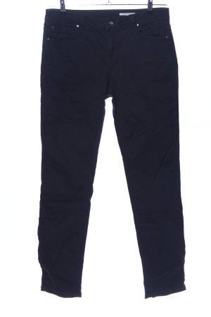 edc Slim Jeans schwarz Business-Look