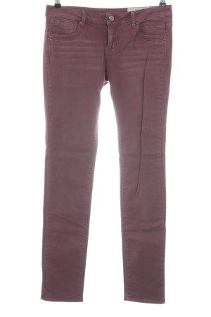 edc Slim Jeans lila Casual-Look