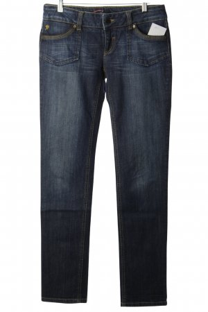 Edc Esprit Slim jeans donkerblauw casual uitstraling