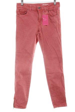 edc Slim Jeans hellrot Casual-Look