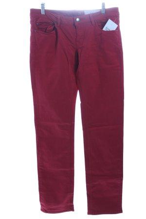 Edc Esprit Slim jeans baksteenrood casual uitstraling
