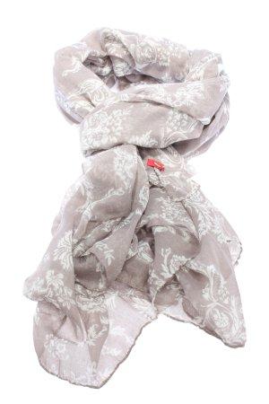 edc Chal veraniego blanco puro-blanco estampado con diseño abstracto