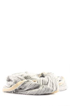 edc Écharpe d'été gris clair style décontracté